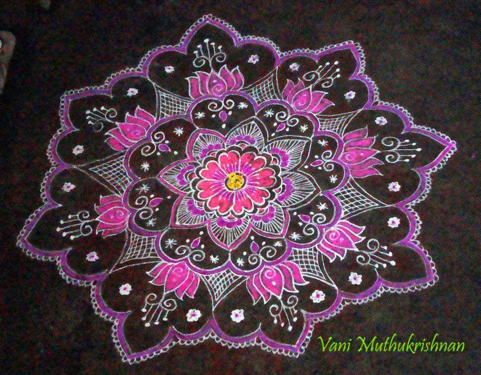 Kolam Designs 1