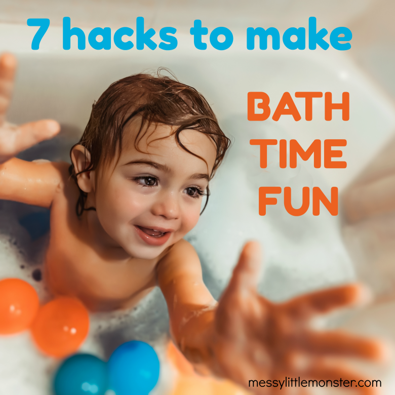 7 hacks to make bathtime fun or kids