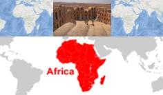 letak geografis dan astronomis afrika
