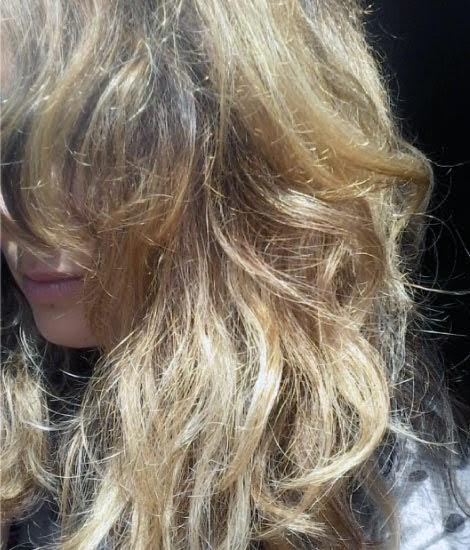 jalea casera para el pelo maltratado