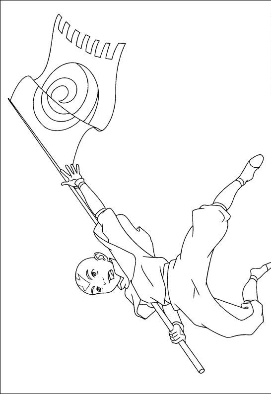 avatar coloring pages online - avatar the last airbender coloring pages team colors