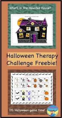 Freebie- Take the Halloween Therapy Idea Challenge- Looks-Like-Language