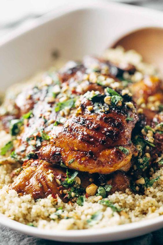 Spicy Thai Chicken and Quinoa Recipe