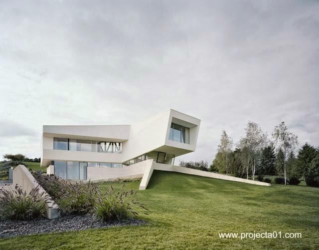 Villa contemporánea vanguardista en Viena Austria