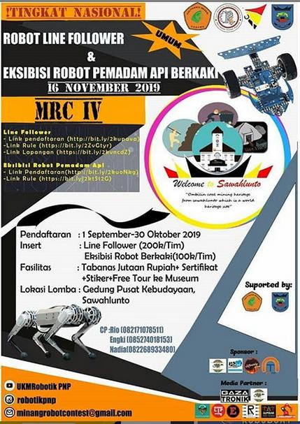 MRC IV tingkat NASIONAL oleh Politeknik Negeri Padang