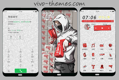 Swag Theme For Vivo Android Smartphone