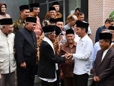 Presiden Jokowi Kunjungi Kantor MUI Jawa Barat - Info Presiden Jokowi Dan Pemerintah