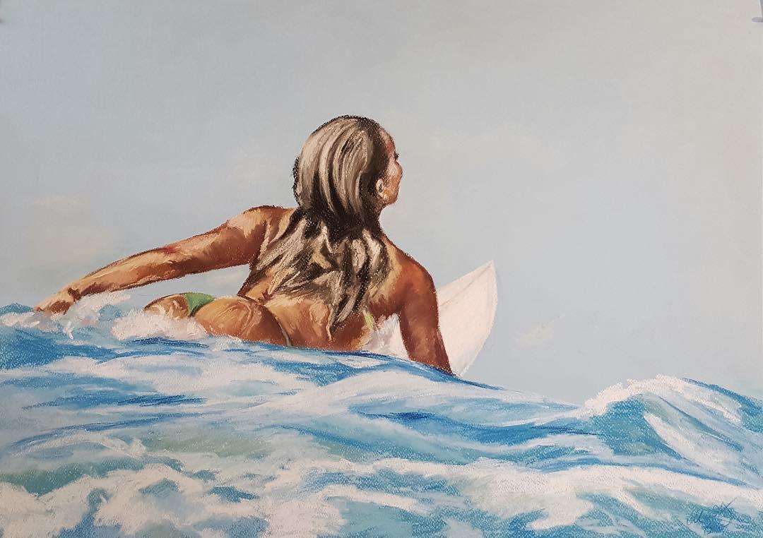 Las surfistas de Chantal Handley