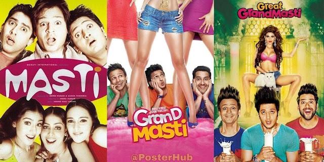 Grand Masti Trilogy Collection (2004-2016) Hindi 720p HDRip x264 Full Bollywood Movie