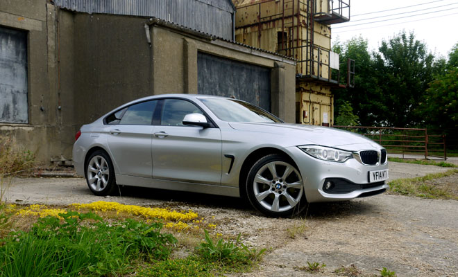 BMW 4-Series Gran Coupe front view
