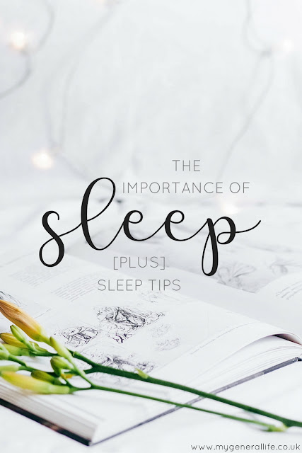 Let's talk sleep, why it's important and what you can be doing in order to get the best nights sleep possible...