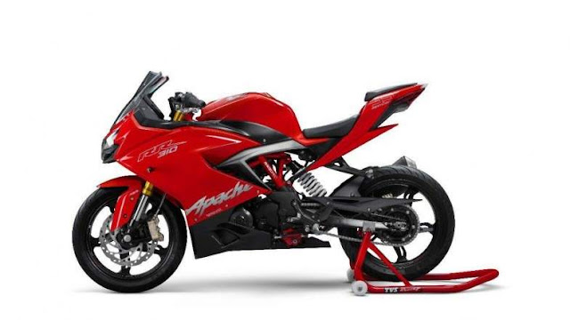 TVS Apache RR 310 Red