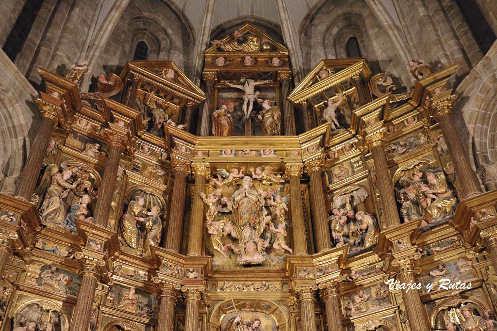 Retablo de la Capilla de san Miguel, Aguilar de Campoo