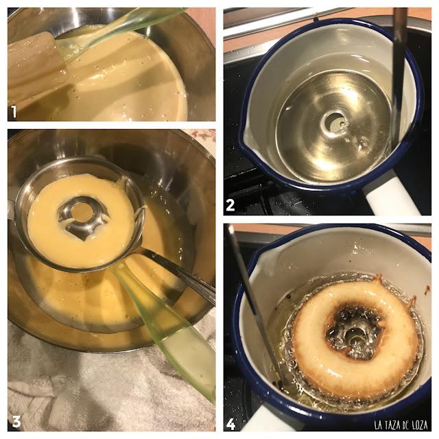 Pasos de las rosquillas de candil