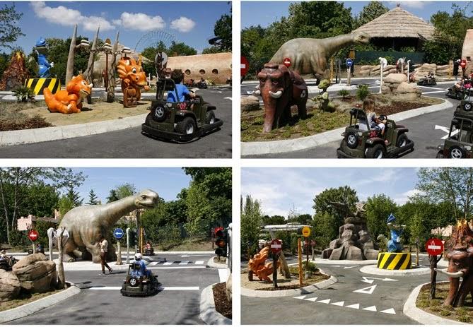 """reportages: """"Dinoland"""", tutto sui dinosauri, inagurata a ..."""