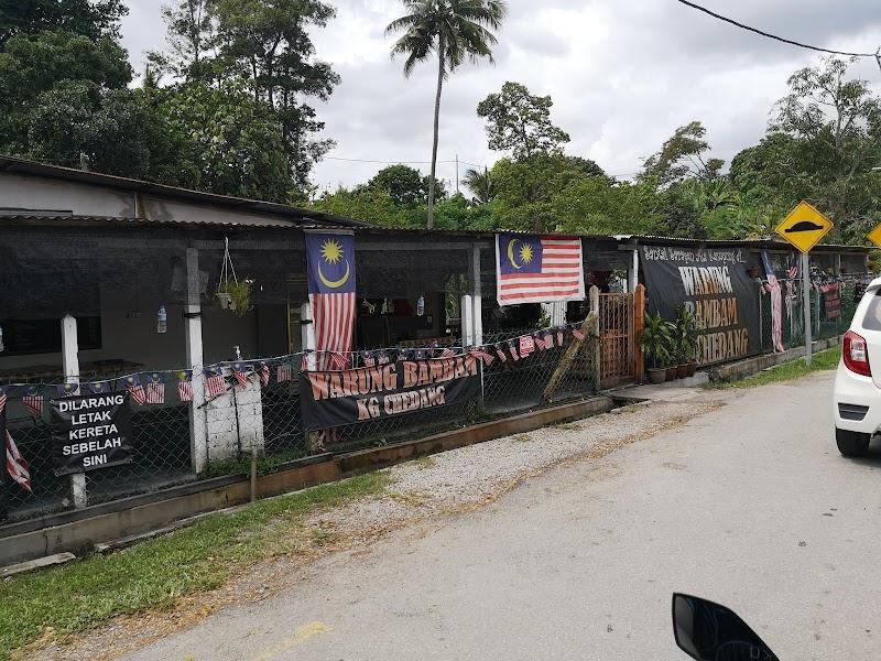 Sarapan di Warung Bambam Kg Chedang