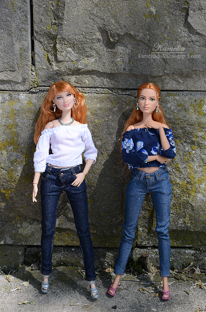 Jeans for Barbie dolls