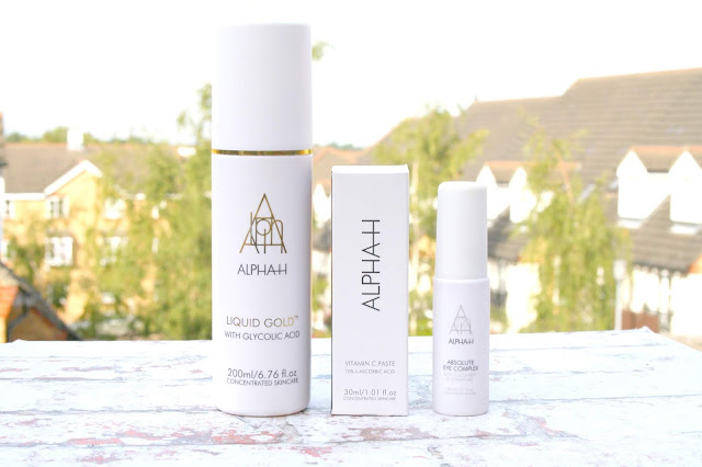 Alpha-H 3 Piece Glow Collection with QVC Beauty