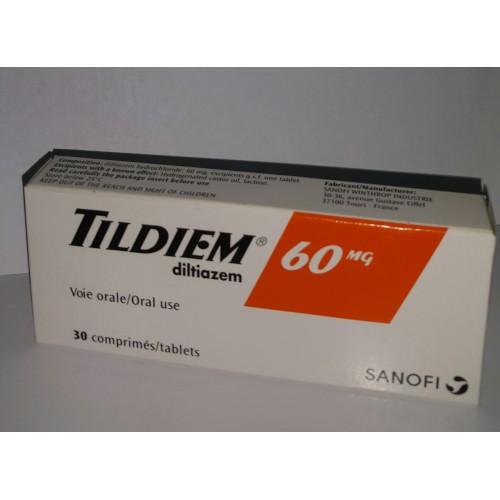سعر ودواعى إستعمال دواء تيلديم Tildiem لعلاج إرتفاع ضغط الدم