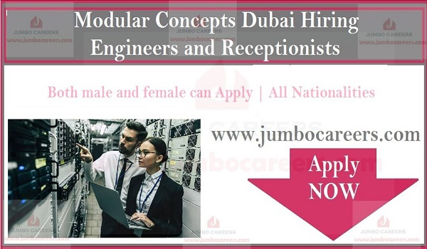 Urgent jobs in Dubai, Current engines and receptionist jobs in Dubai with salary,