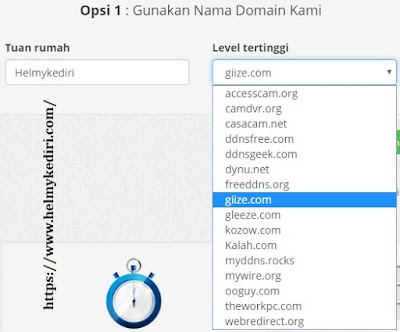 dynu.com penyedia domain gratis