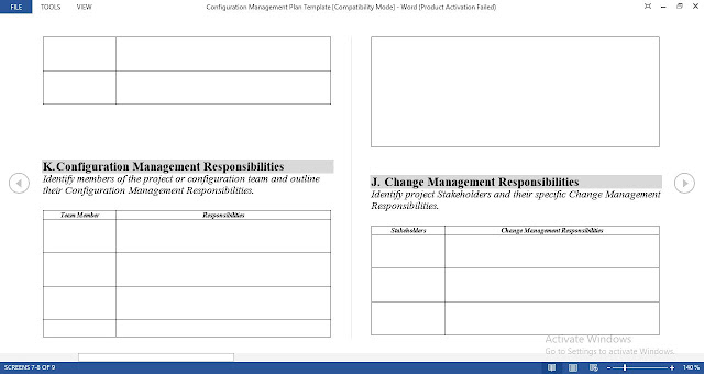 Configuration Management Plan Template - Free Download