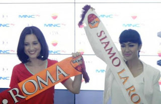 Tim Julie Estelle Kandaskan Tim Julia Perez Dalam AS Roma Days di SUGBK