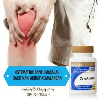ostematrix untuk sakit kaki dan tulang