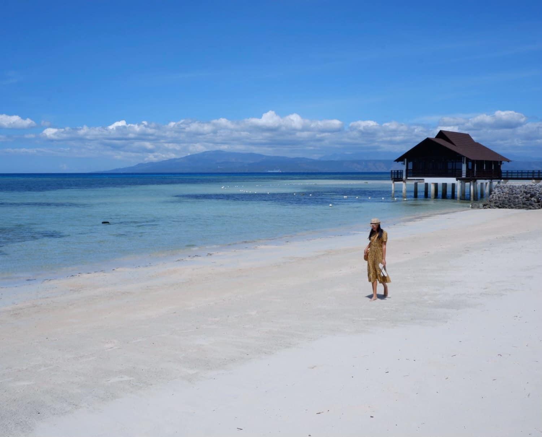 Girl on a white beach - Anvy Beach Resort Glan, Saranggani