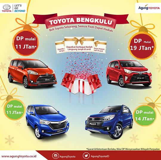 Promo Toyota Bengkulu
