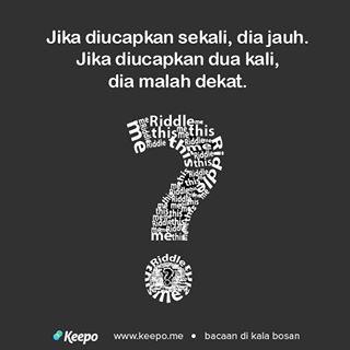 Good Riddle Lucu Dan Jawabannya Bahasa Inggris