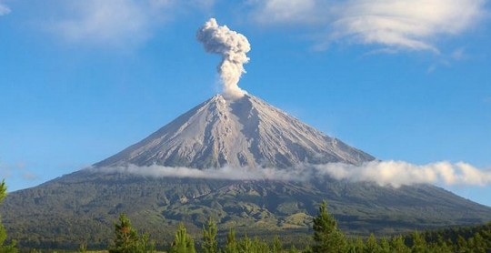 asal usul gunung meru