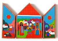 Maria Estela Perlera de Portillo - Nativity triptych