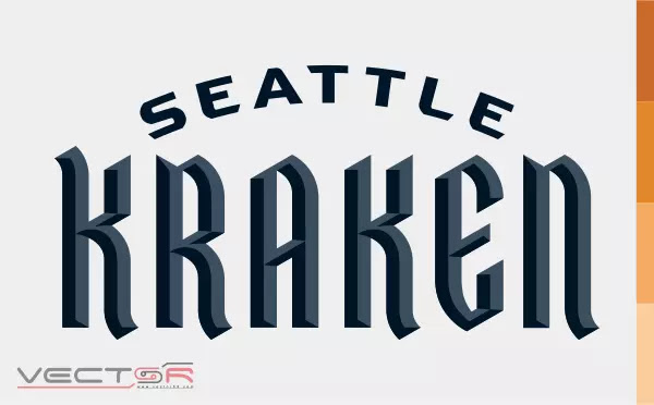 Seattle Kraken Wordmark (2020) Logo - Download Vector File AI (Adobe Illustrator)