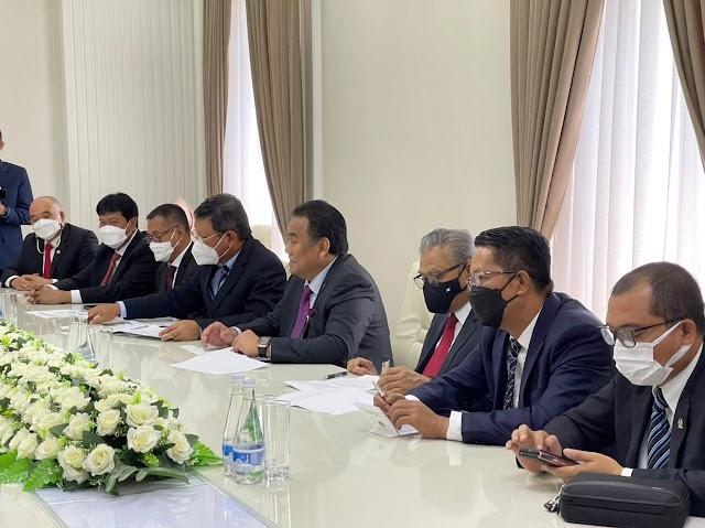 Indonesia dan Uzbekistan Sepakat Bentuk Kelompok Kerja Bersama
