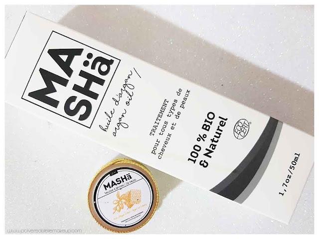 MASHä Cosmetics olio di argan