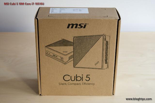 UNBOXING Y ACCESORIOS MSI CUBI 5 10M