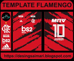 Uniforme Flamengo 2021 Desing Fantasy (Vector)