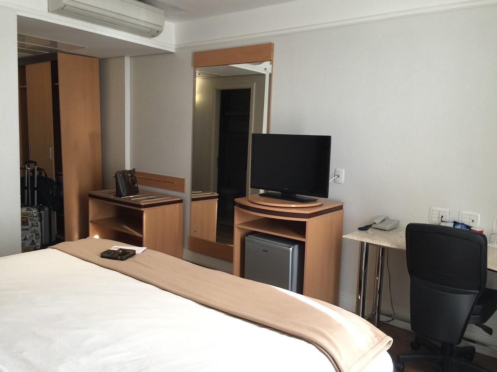 apartamento do Intercity Caxias do Sul o melhor hotel da cidade