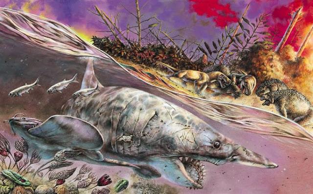 Permiyen - Triyas Büyük Yok Oluşu'nda Zarar Gören Kara-Deniz Canlılığı