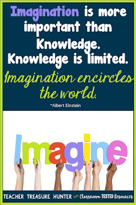 Imagination encircles the world.