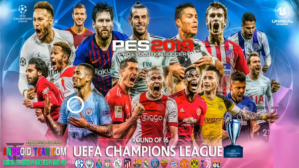 PES 2019 PRO.3.2.0 UCL Android Mobile Patch Download [Update] (No ROOT)