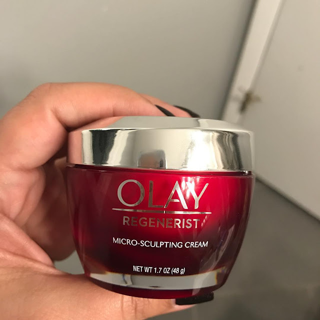 Olay Regenerist Micro-sculpting Cream Night untuk usia 20an