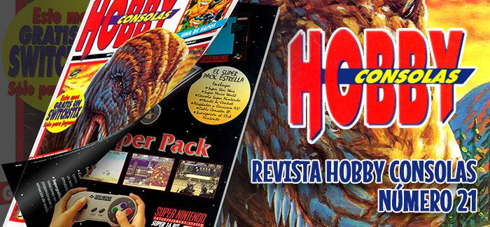 Revista Hobby Consolas Nº 21 (1993)