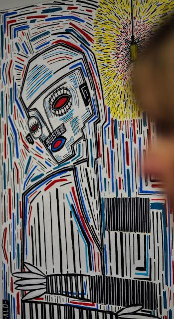 alo alo art urban art saatchi saatchi gallery
