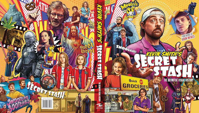 Insight Editions Kevin Smith's Secret Stash The Definitive Visual History full cover spread