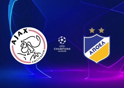 Ajax vs APOEL Full Match & Highlights 28 August 2019