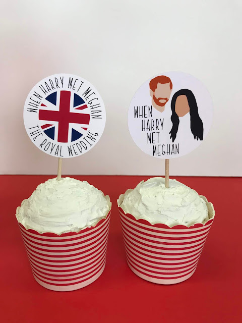 Check out these FREE Royal Wedding Watch Party Printables!