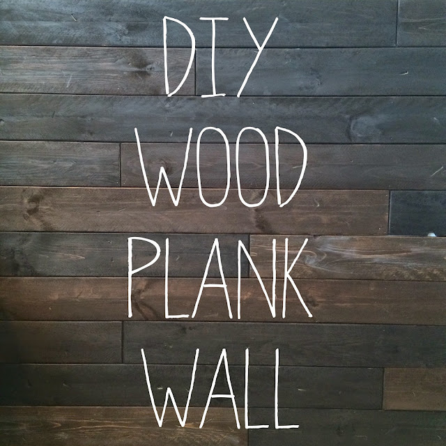 DIY Wood Plank Wall
