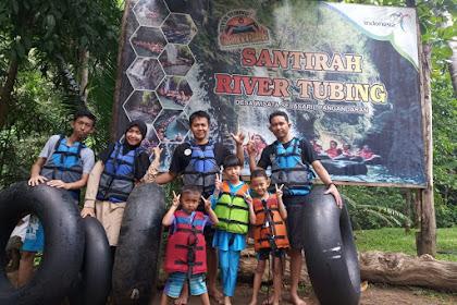 Wisata Alam Santirah River Tubing
